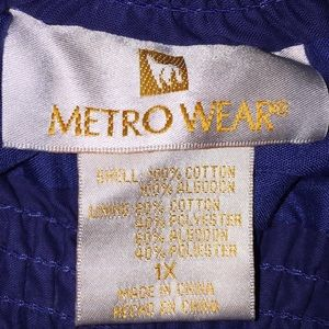 Metro Wear Skirts - Royal Blue Ruffled Skirt by Metro Wear